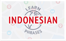 Learn Indonesian Survival Phrases with IndonesianPod101.com